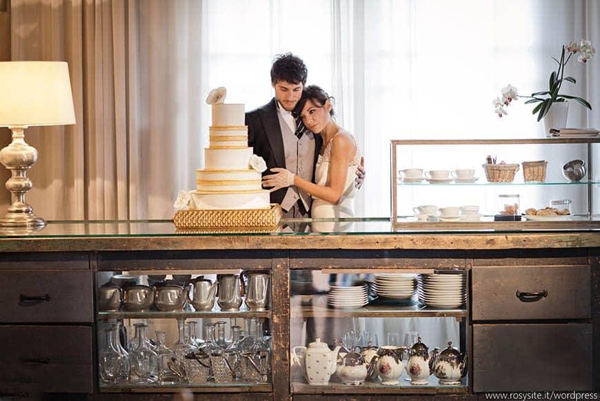 Tuscany Italy Wedding Cake – Montegufoni Castle