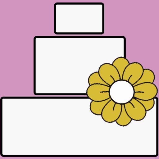 Tuscany Wedding Cake – Floating on Roses
