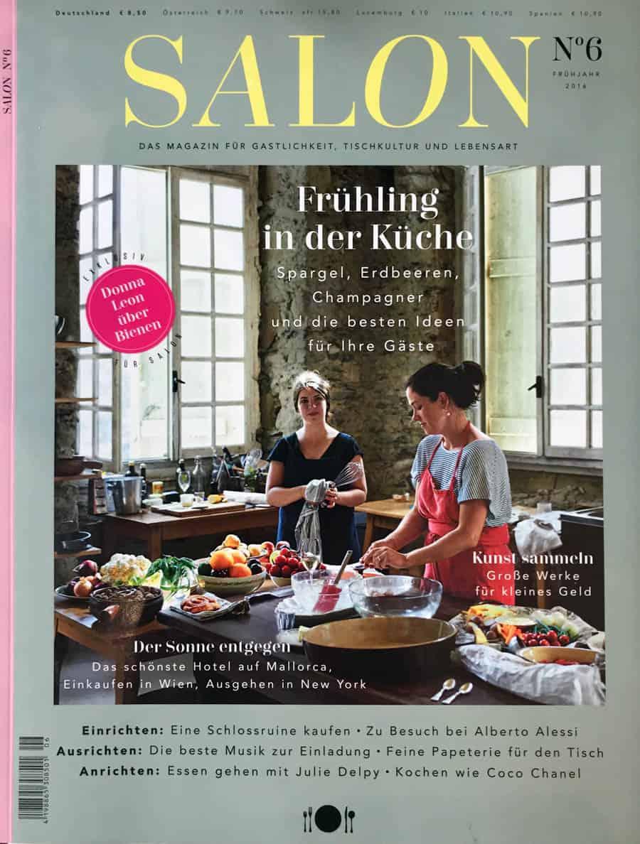 FlorencesTuscan Wedding Cakes has made it into German Magazine 'Salon'