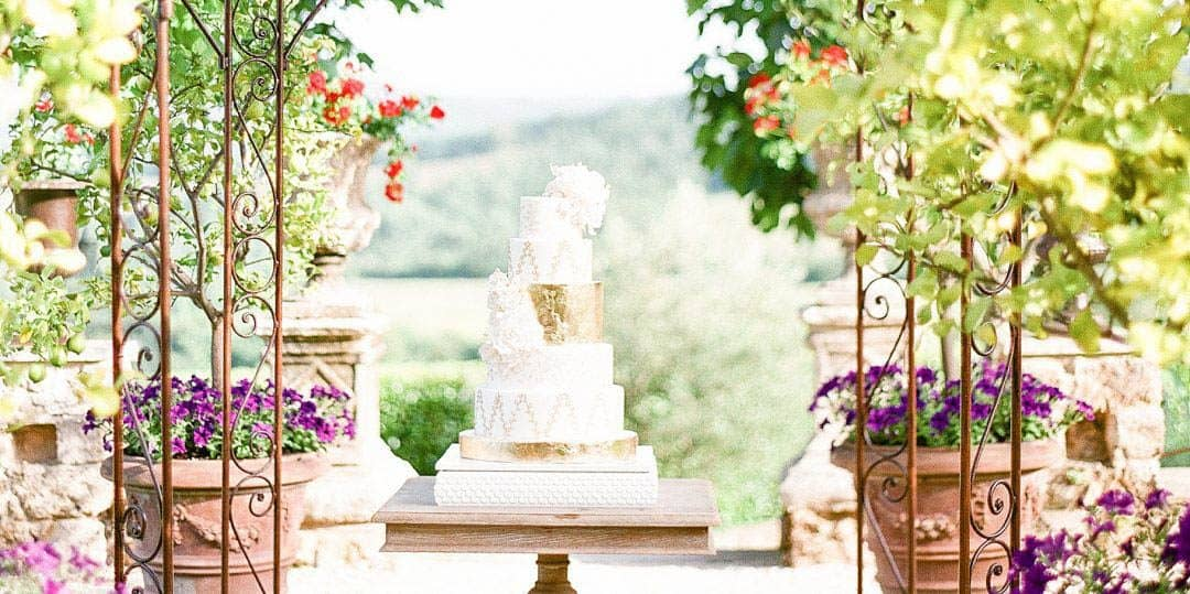 Borgo Santo Pietro, Siena Luxury Wedding Cake