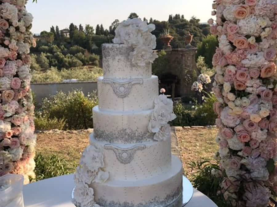 Tuscan Wedding Cakes, Gatsby Wedding Cake