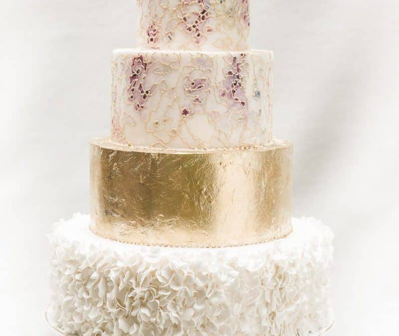Mid-Summer Nights Dream Wedding Cake, Tuscany
