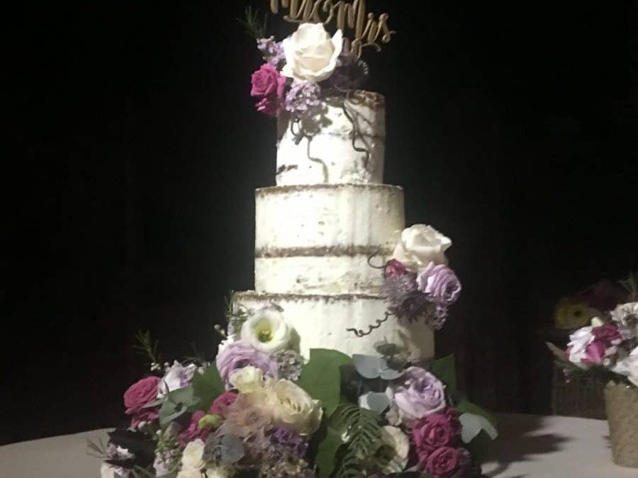 Naked Wedding Cake, Siena, Tuscany