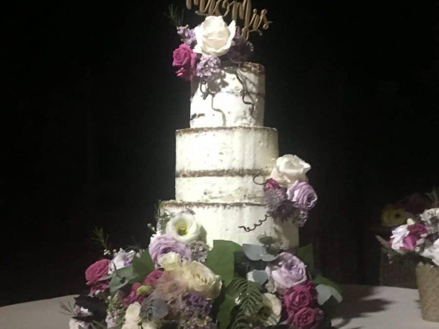 Naked Wedding Cake, Siena, Tuscany
