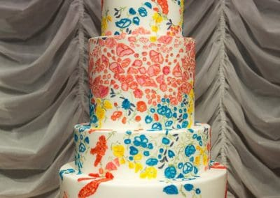 Oscar De La Renta Inspired Wedding Cake, Tuscany