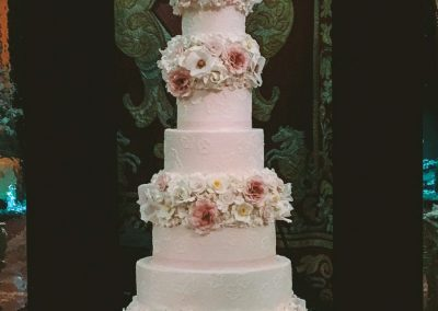 Palazzo Corsini Luxury Floral Wedding Cake
