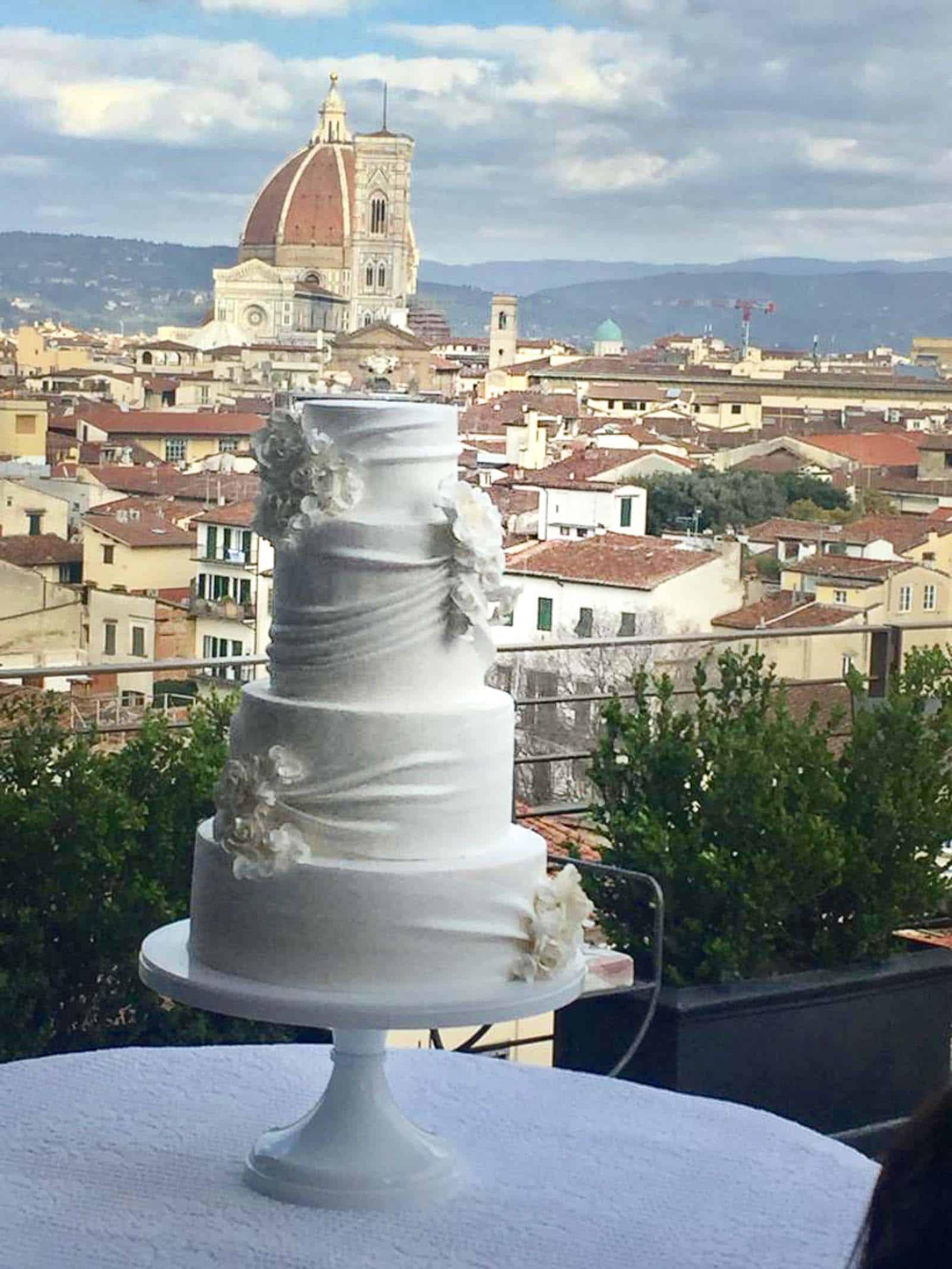 Dreamy Wedding Cake at St. Regis